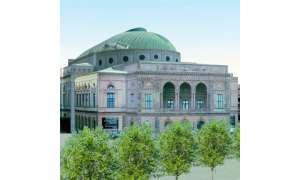 Schrägbild 3-D-City Blom ASA