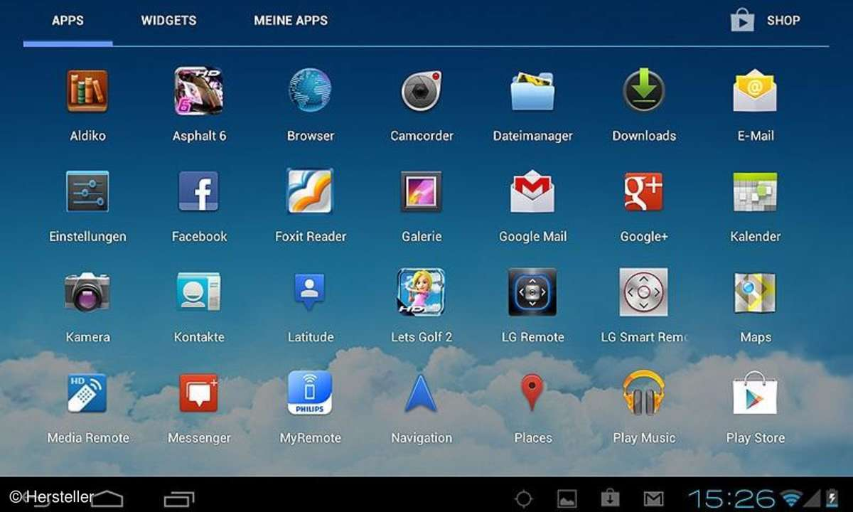 Praktische Android-Einstellungen für TabletsTablets