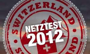 Netztest Schweiz 2012