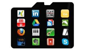 Android-Apps auf Speicherkarte