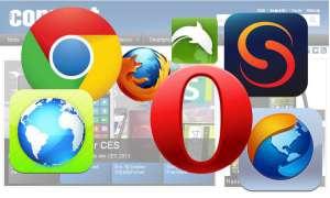 Smartphone-Browser