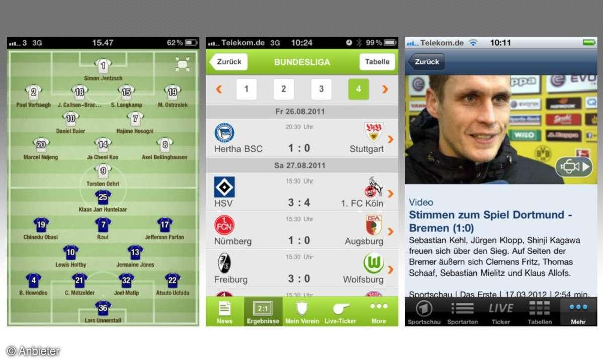Bundesliga Apps