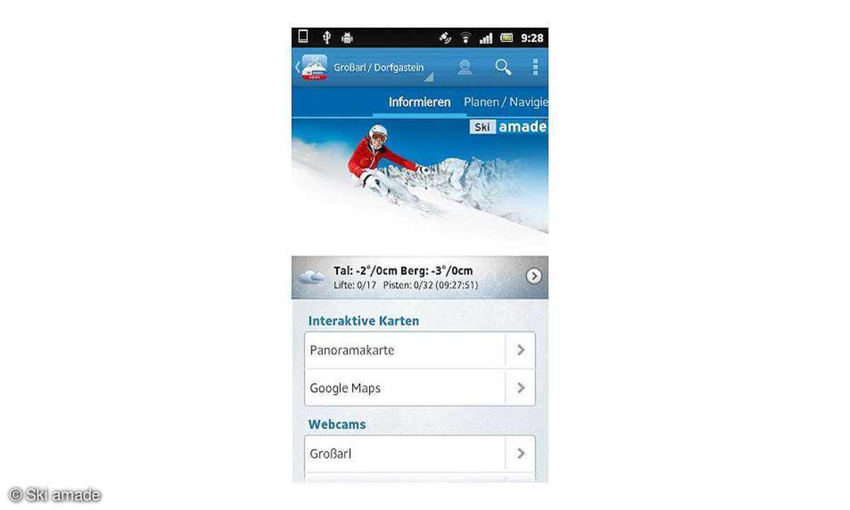 Ski amade Guide