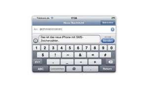 SMS Zeichenzähler