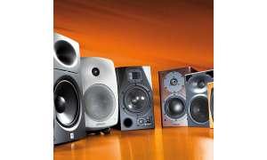 Vergleichstest Lautsprecher JBL LSR 2328 P, ADAM A 7, KS Digital Coax C 5 Tiny, Klein + Hummel O 110, Dynaudio Focus 110 A, Genelec 8040 A, Genelec 6010 A