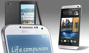 First, Galaxy S4, One