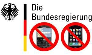 Bundesregierung verzichtet auf BlackBerrys und iPhone