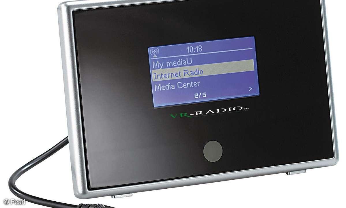 Internetradio-Receiver & Musik-Streamer IRX-510.WLAN