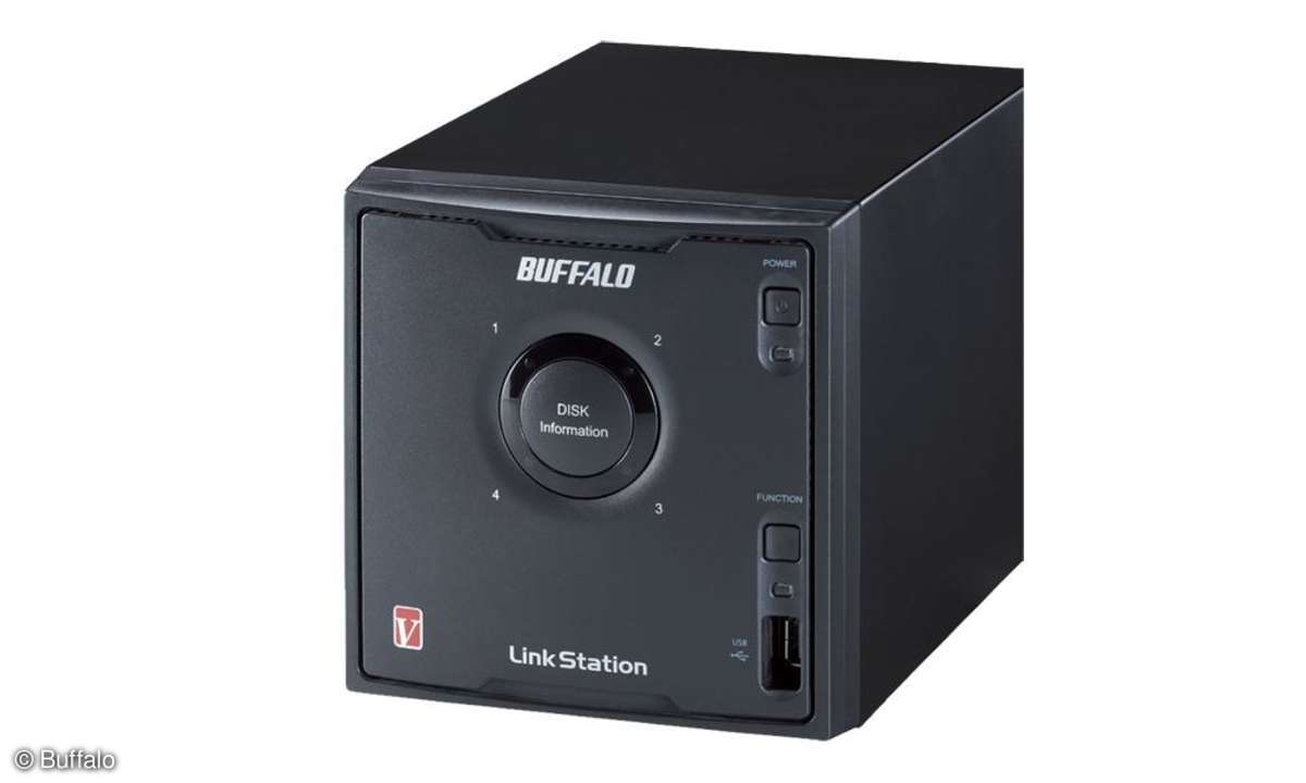 Buffalo Link Station Quad