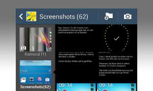 Samsung Galaxy S4: Screenshot erstellen