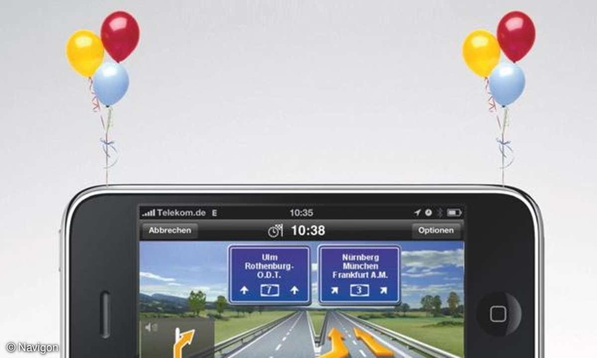 Navigon MobileNavigator für iPhone