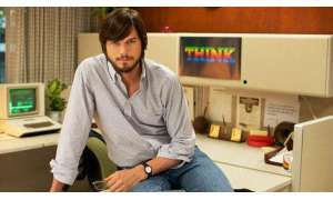 "Ashton Kutcher als Steve Jobs in ""Jobs""."