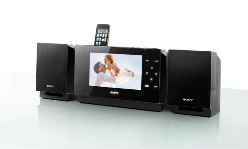 sony wgh slk1i mini stereoanlage mit riesendisplay connect. Black Bedroom Furniture Sets. Home Design Ideas