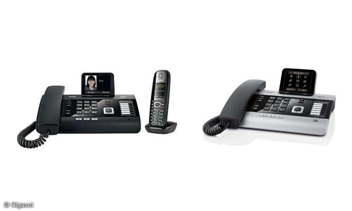 Gigaset DL500A und DX800A: Neue Business-Telefone