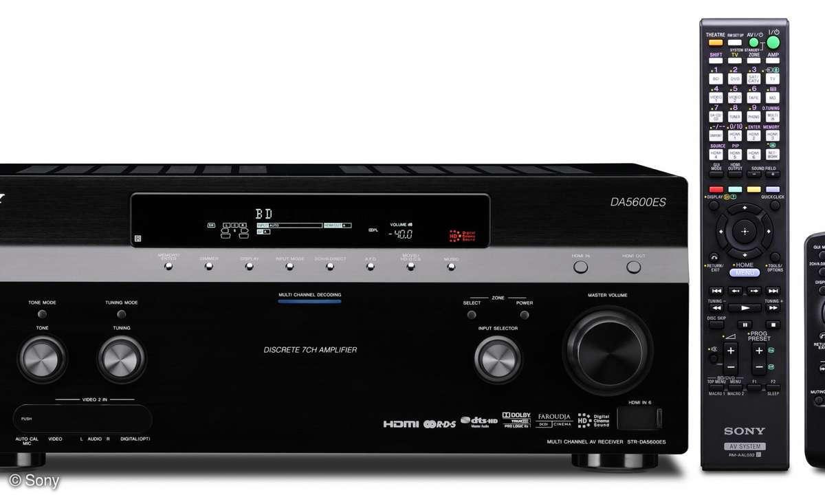 3D Receiver STR-DA5600ES von Sony