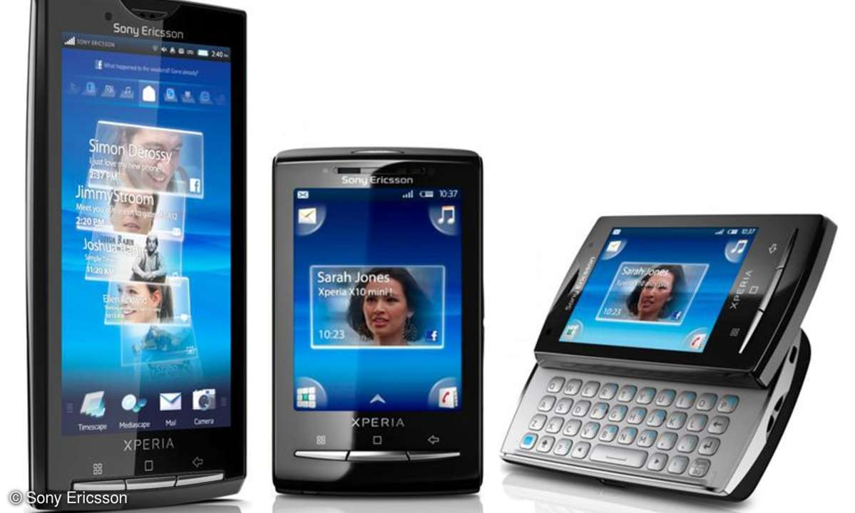 Sony Ericsson Xperia X10, X10 mini, X10 mini pro