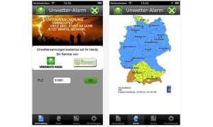 Unwetter-Alarm