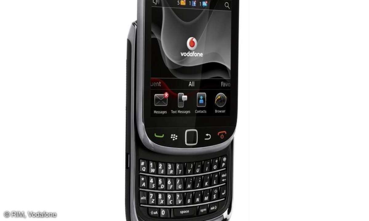 RIM BlackBerry Torch 9800 Vodafone