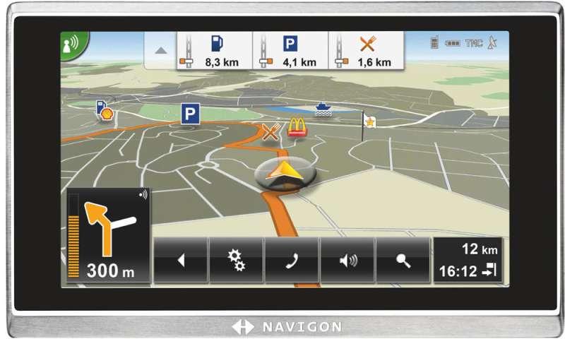 navigon bringt software upgrade f r das 8410 connect. Black Bedroom Furniture Sets. Home Design Ideas
