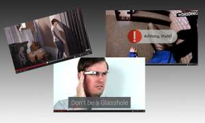 Google Glass Parodien auf YouTube