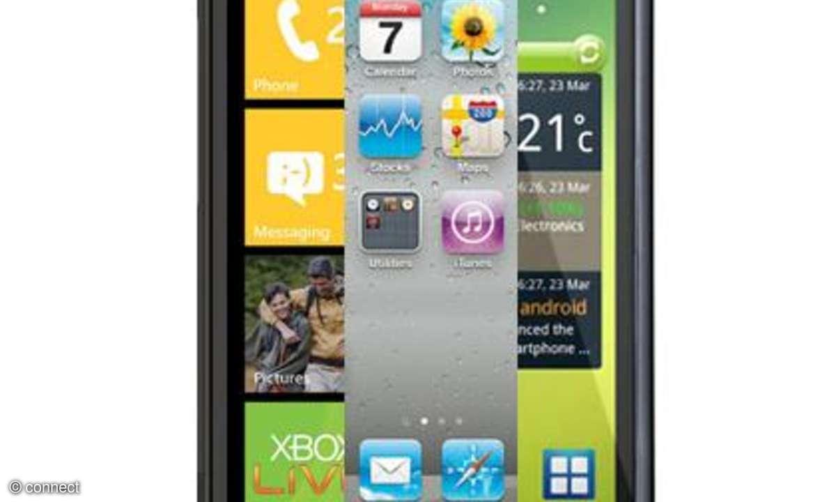 Handy- und Smartphone-Vorschau