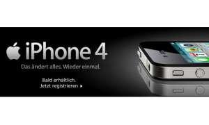 Apple iPhone 4 bei O2 und Vodafone
