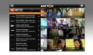 Zattoo - überall Fernsehen