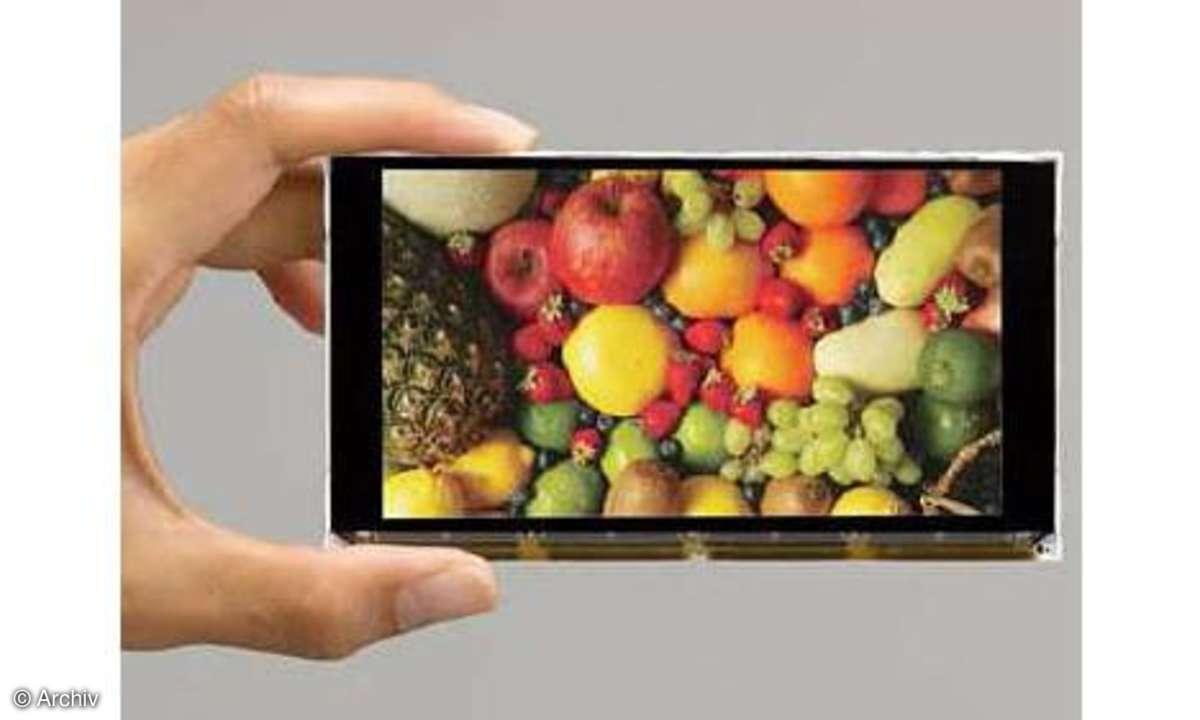 Ortustech Full-HD-Display für Smartphones