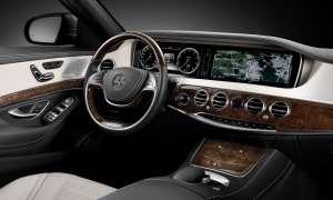 Mercedes S Klasse Cockpit