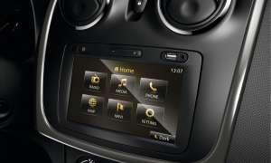 Dacia Sandero, Touchscreen