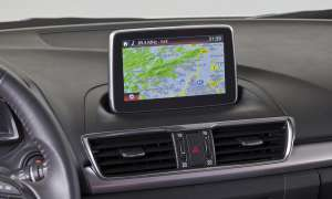 Mazda 3 Touchscreen