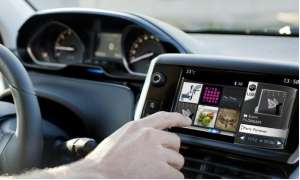 Peugot 208 Touchscreen