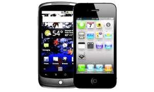 Nexus One und iPhone 4