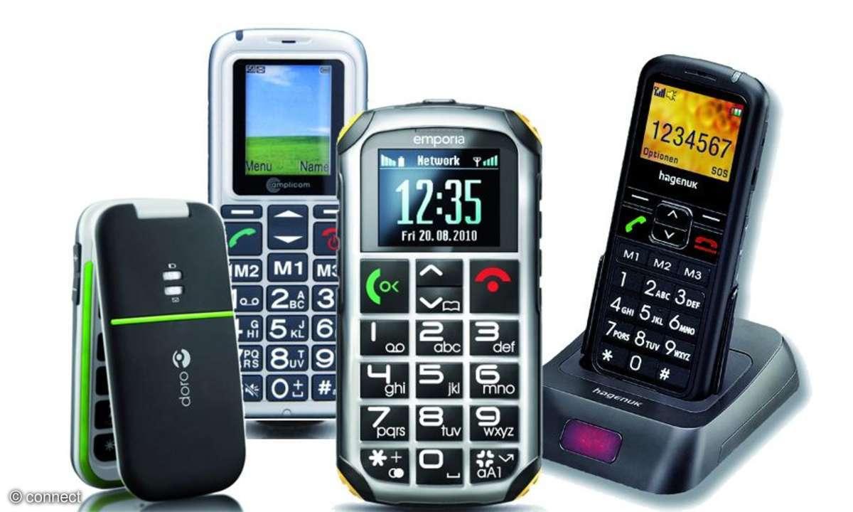 Senioren-Handys