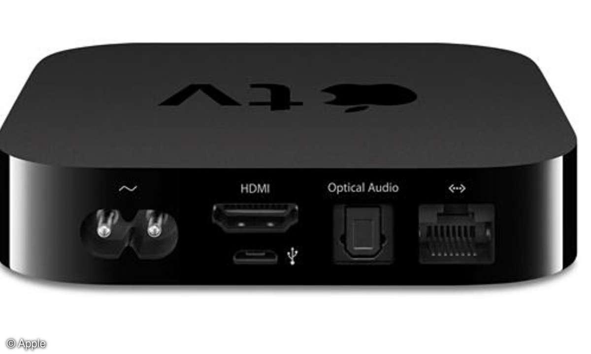 Apple TV, Rückansicht