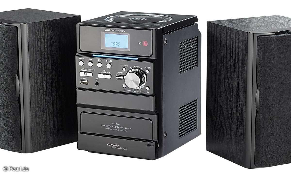 Auvisio Stereo-Anlage MHX-410.USB