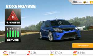 EA, Games, Autorennen, Real Racing 3, Android, Spiele, App