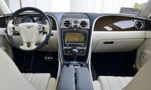 Bentley Flying Spur Cockpit