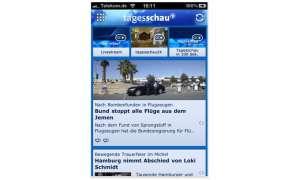 Die Tagesschau-App für iPhone