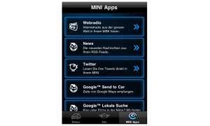 Mini connected: Die iPhone-App für den Mini