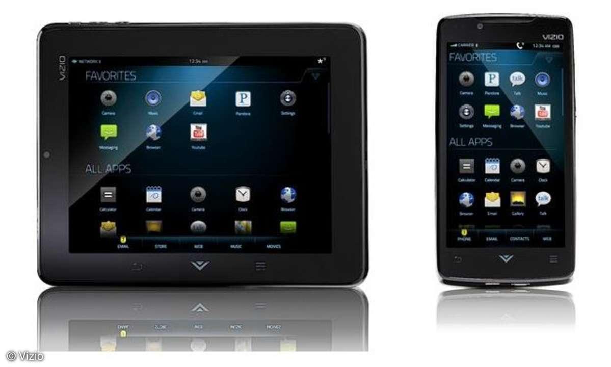 Vizio Phone und Tablet