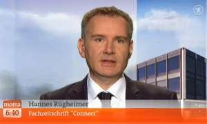 Hannes Rügheimer im Morgenmagazin