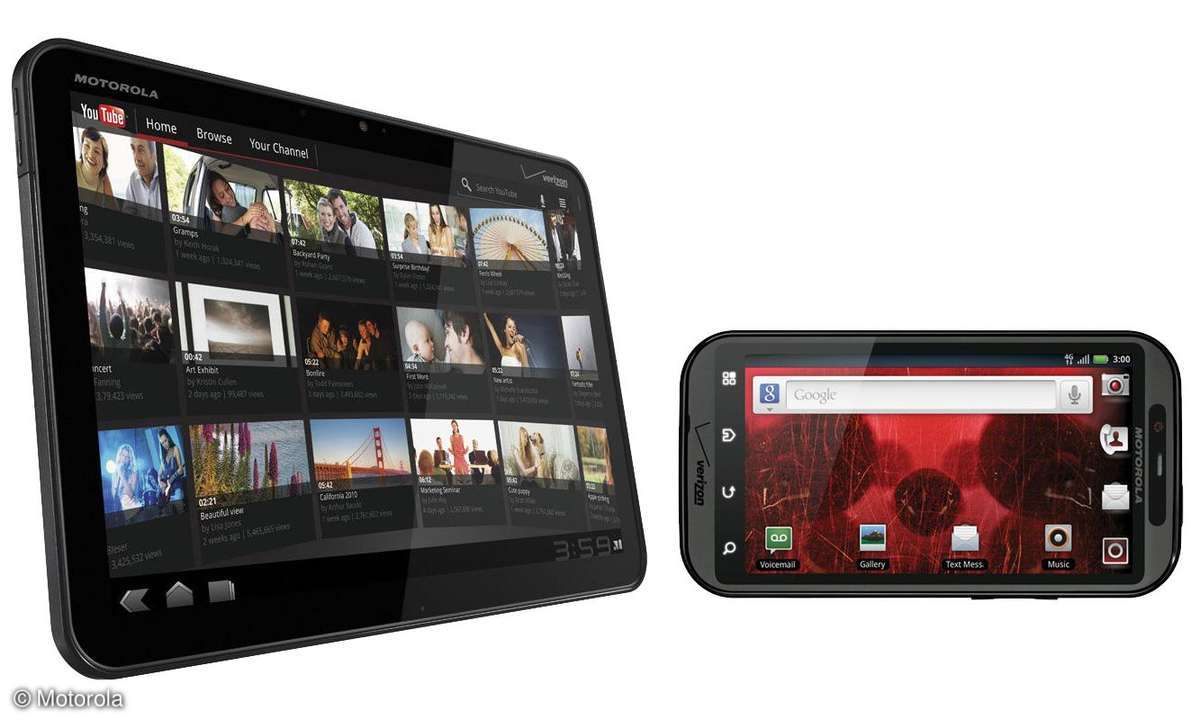 Motorola Atrix und Zoom