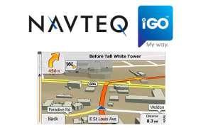 Navteq und NNG mit Natural Guidance