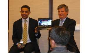 Sanjay Jha und Alain Mutricy
