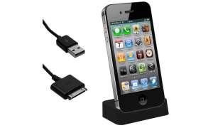 iphone, zubehär, dockingstation