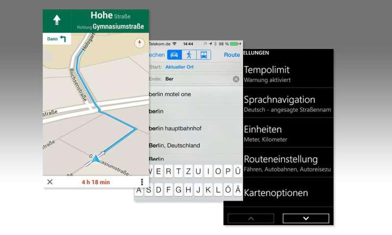 Vergleichstest: Navi-Apps für Windows Phone, iOS & Android ...