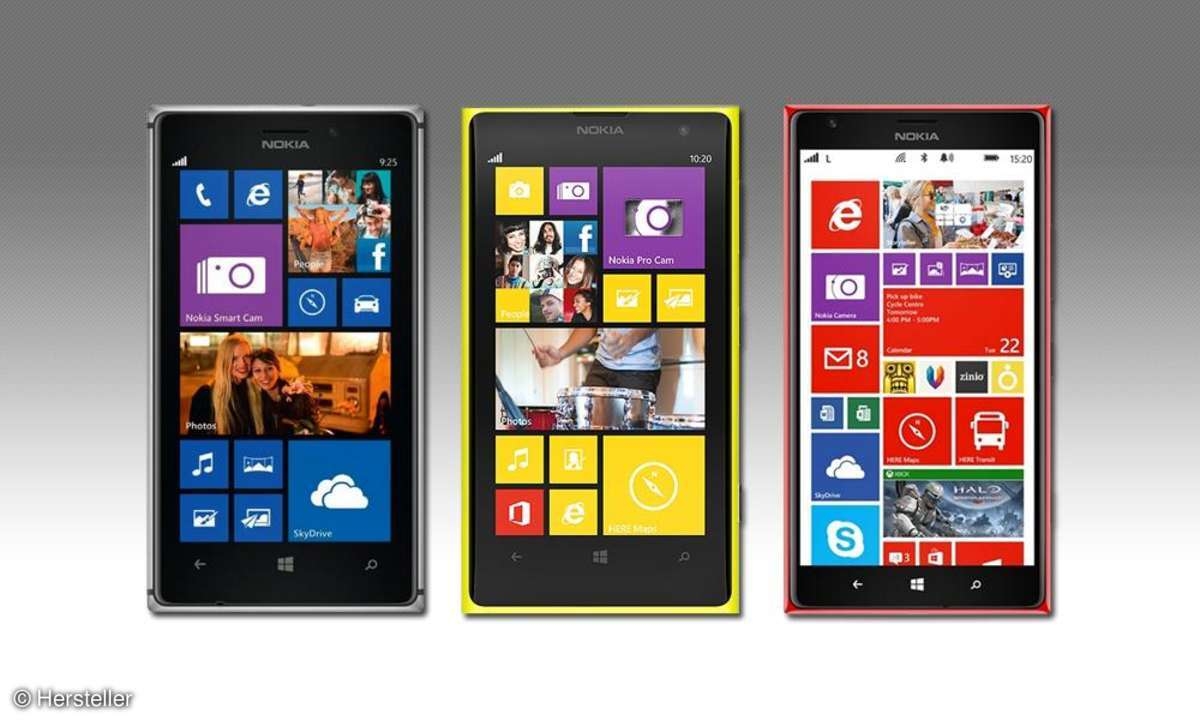 Windows Phone 8 - Nokia Modelle