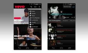 Chromecast Apps - Vevo