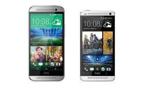 HTC One M8 vs. One